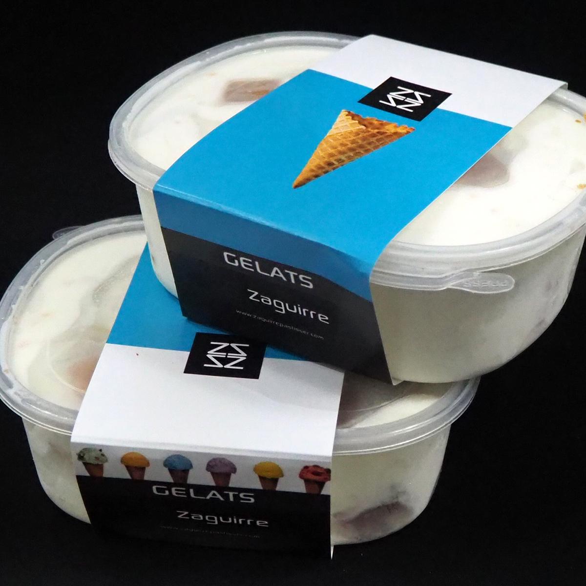 tarrinas de helado artesano para llevar