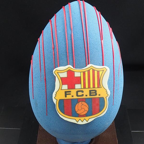 mona huevo de pascua chocolate barça - FC Barcelona