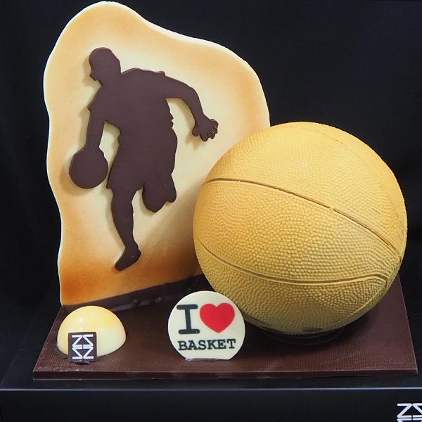 mona chocolate pelota de basquet - baloncesto