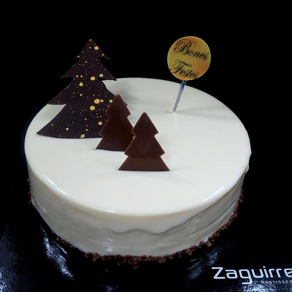 Tartes de Nadal i Cap d'Any: mousse de guianduja amb cremós de mandarina