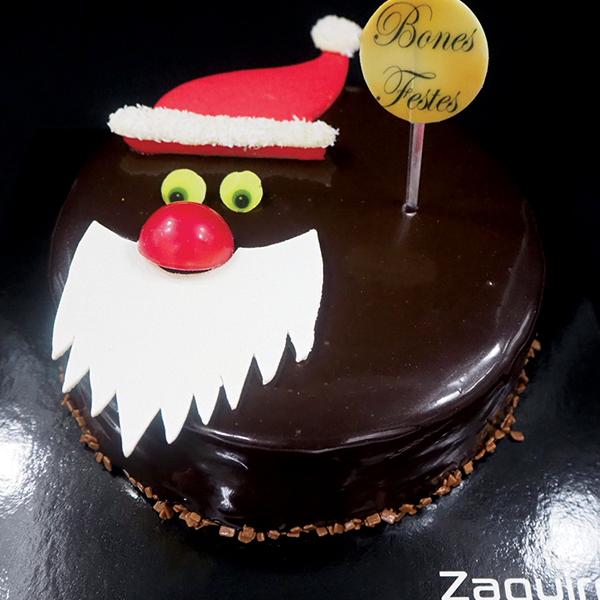 Tartas de Navidad y fin de año: mousse de tres chocolates