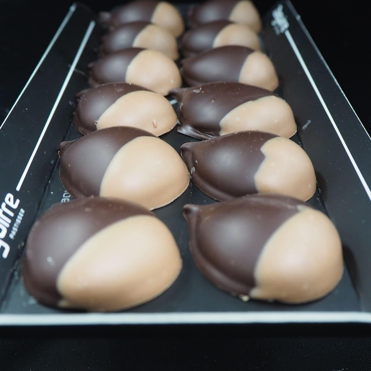 Panellets Castanyada castanya i xocolata