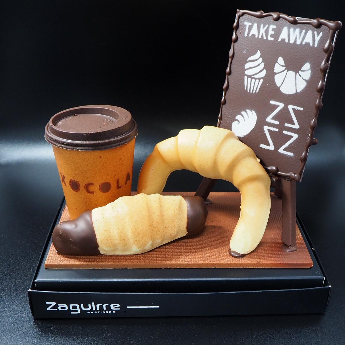mona de chocolate take away