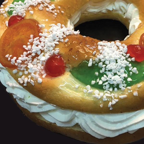 Tortel y roscón de Reyes